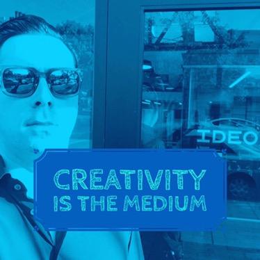 Kreativität ist das Medium. - Lukas-Pierre Bessis