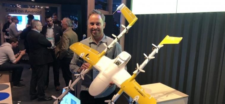 Drone von Wing geht ab April in den Testbetrieb